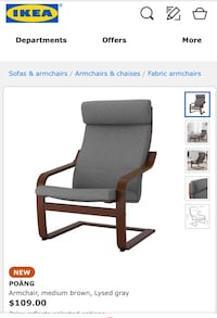 black and gray rolling armchair Los Ángeles, 90066