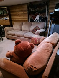 $250!!  EPIC COMFY COUCHES FROM SMOKE FREE HOME Edmonton