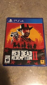 PS4 Red dead redemption 2 Toronto, M1S 2T1