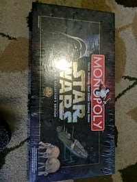 Star wars Monopoly collector's edition brand new