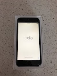 Space gray iphone 6 64 g with box, case, and charger Miami, 33131