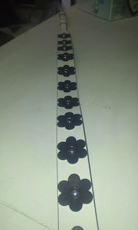 white and black floral-print leather guitar strap Winnipeg, R3E 2C8