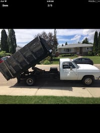 Parting out 1993 dodge diesel dump truck