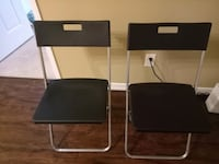 Two folding chairs from Ikea  Toronto, M2N 7C5