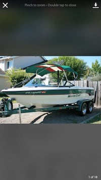 1997 Master craft pro star 190 boat. 690 hours engine. Length 20ft Mountain View, 94043