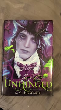Unhinged by A. G. Howard Pullman, 99163