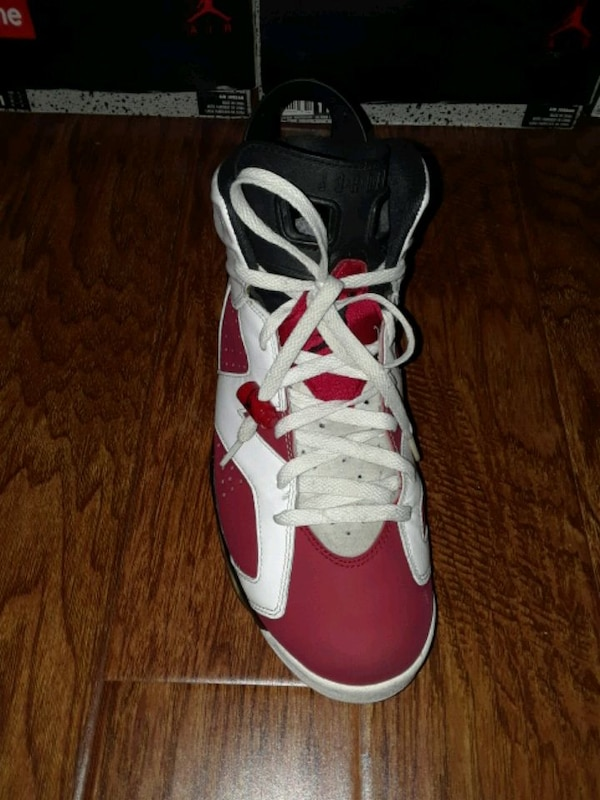 0db28d999d1176 Used Air Jordan Carmine 6s for sale in Newark - letgo