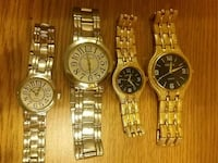 four round gold analog watches with link strap Albuquerque, 87102