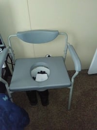 white and gray commode chair Chicago Heights, 60411