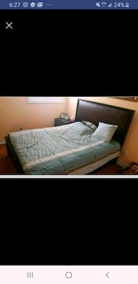 queen beds! 2 for sale! comes with dresser
