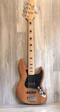 5 String Bass Guitar Jass Natural Brand new iMusicGuitar Toronto