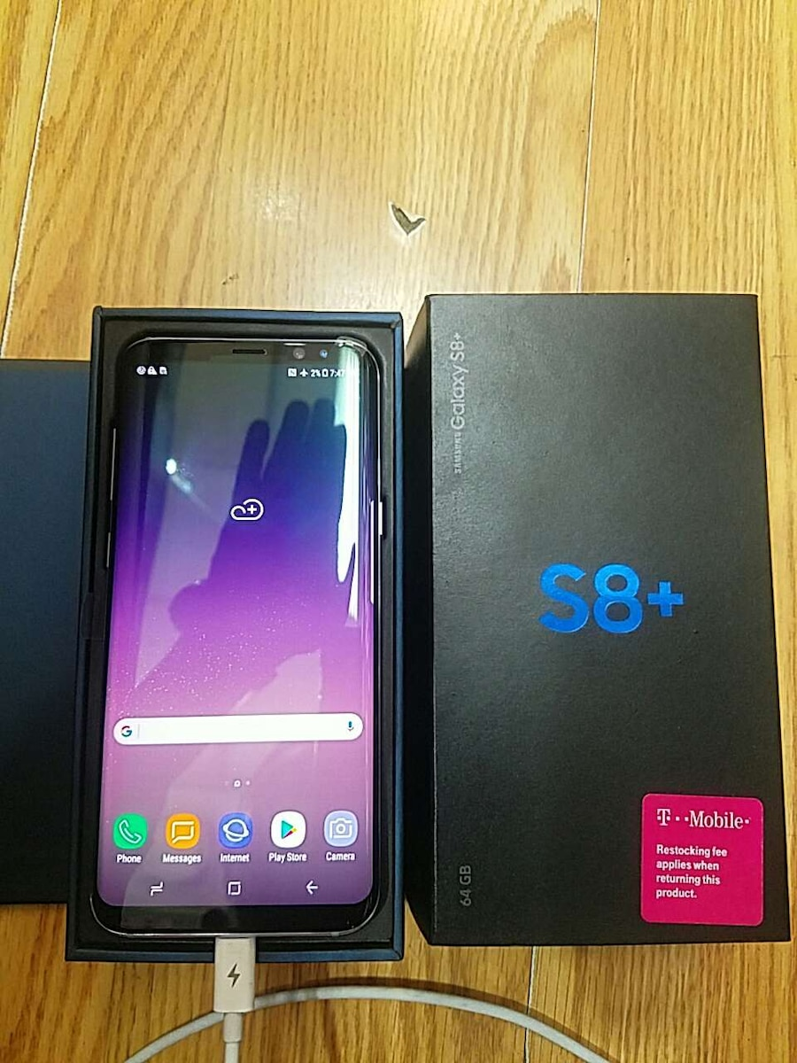 used samsung s8 plus t mobile locals only in new york. Black Bedroom Furniture Sets. Home Design Ideas