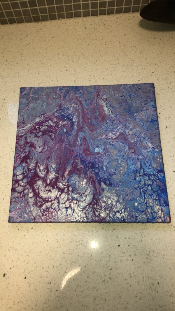 """Shallows"". 12x12 canvas. Abstract painting.  87989955-52e6-4cfc-8fe1-3442878e48b5"