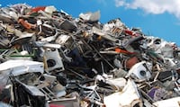 We Will pick up your scrap metal free of charge. If you have anything metal PM me with what you have and your ADDRESS, and if it's inside or out, I will get back to you ASAP.  Appliances, shelves, metal chairs, bikes, farm machinery, car Batteries, car pa Kingston, K7K 2P9
