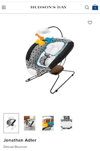 FISHER PRICE DELUXE BABY BOUNCER London, N6B