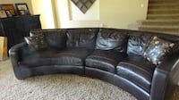 100% Leather  Couch Phoenix