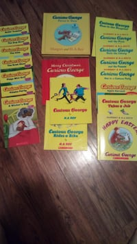 19 NEW Curious George books Angus