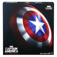 Marvel Legends Captain America Shield 80th anniversary collection Rock Hill