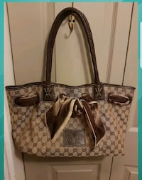 Gorgeous  LV  bag  with  silk  Gucci  scarf  Whitby, L1N 8X2