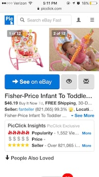 pink and white Fisher-Price Infant of Toddler bouncer Newport News, 23602