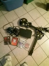 PlayStation 2 console with controllers and game c Lynn Haven, 32444