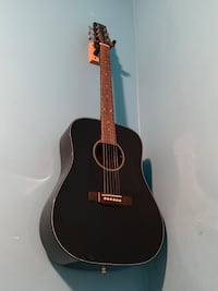 Samick Acoustic Guitar(Piano Black Finish)  Cicero, 60804