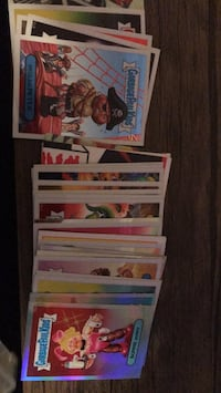 Garbage pail kids foil cards RARE Windsor, 95492