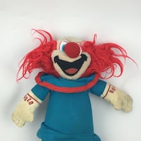 BOZO THE CLOWN PLUSH  Vancouver, V5T 2M5