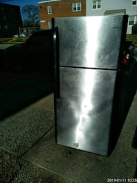 stainless steel top mount refrigerator Capitol Heights, 20743