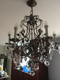 Crystal candlestick chandelier North Haven, 06473