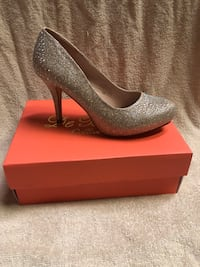 Nude sparkle heels in sizes 7, 8.5, 9 and 10 Rockville, 20853