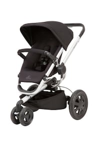 Quinny stroller in black excellent condition  Vaughan, L4L 9M6