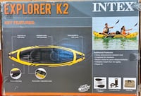 Explorer K2 2-Person Inflatable Raft for Sale
