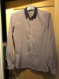 gray and black button-up long-sleeved shirt Edmonton, T5K 1A4