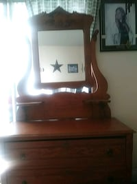 For sale anq dresser with mirror North Saanich, V8L 5S6