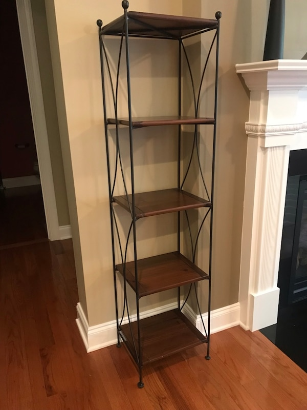 used pier one bookcase for sale in raleigh letgo. Black Bedroom Furniture Sets. Home Design Ideas