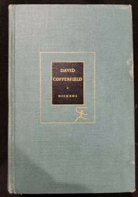 Vintage David Copperfield by Charles Dickens 1950 Modern Library