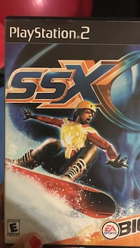 SSX PS2 game case Silver Spring, 20906