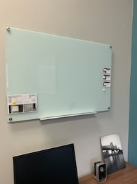 Glass Magnetic White Board