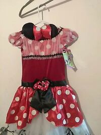 girl's red and black Minnie Mouse dress Laredo, 78043