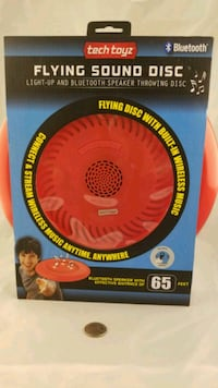 $7 LIGHT&SOUND BLUTOOTH FRISBEE. Reading