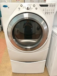 Whirlpool front load gas dryer