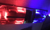Police car lights everting works perfect good for men's cave