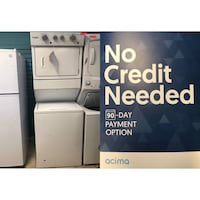 """Brand New 27"""" Whirlpool Electric Stacked Laundry Center (Scratch and Dent) Elkridge, 21075"""