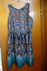 women's blue and red floral sleeveless dress Martinsburg, 25401
