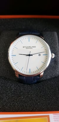 Blue Minimalist Stuhrling Original Watch Brand New Woodbridge, 22192