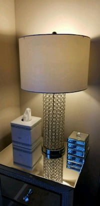 Crystal table lamp Odenton