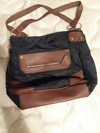 black and brown leather tote bag Augusta, 30906