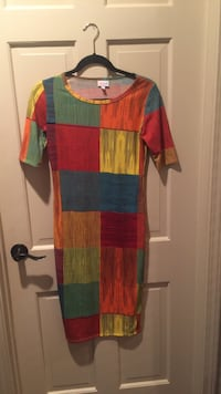 Green, red, and blue long-sleeved dress Tuscaloosa, 35405