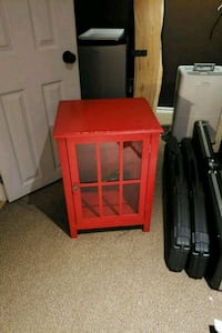 red wooden cabinet Guelph, N1H 8B1